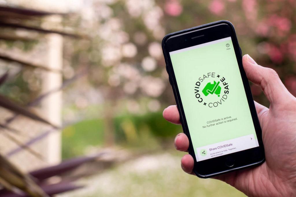 Covid safe app in Australia